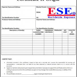 ApartmentDịch vụ xin cấp giấy chứng nhận xuất xứ (CO) do VCCI cấp