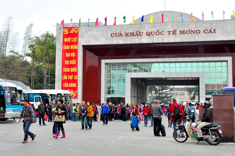 Dịch vụ hải quan Cửa khẩu Móng Cái - Quảng Ninh