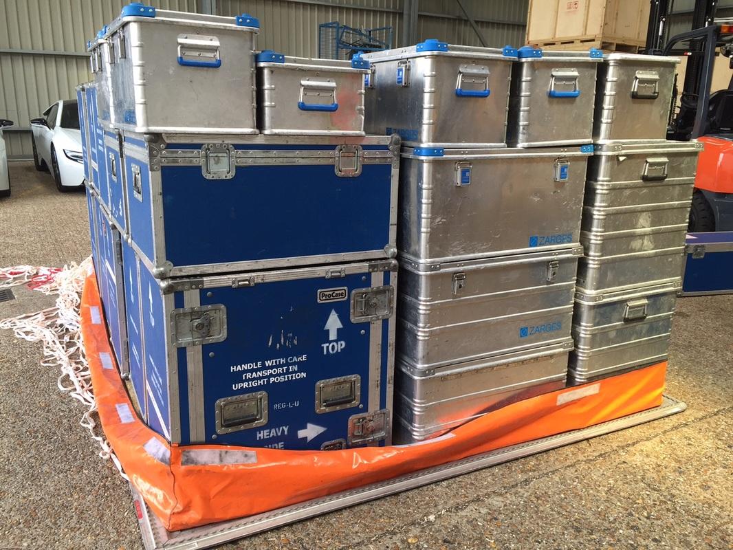 ViettelCargo tiến hành giao nhận hàng hóa tại cơ sở của khách hàng