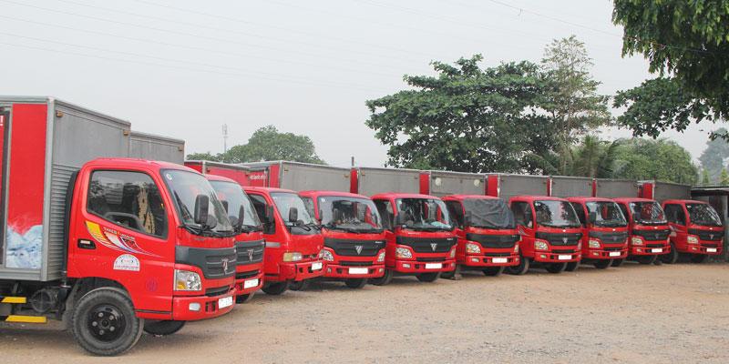 Đội xe vận tải của ViettelCargo