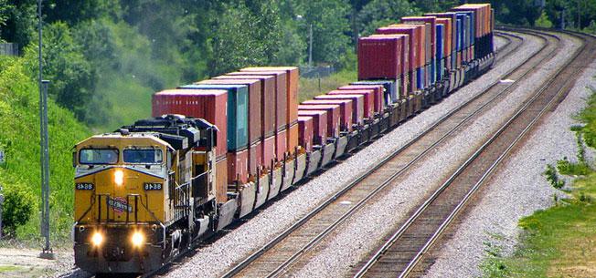 Dịch vụ vận tải đường sắt Bắc Nam