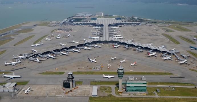Sân bay Hong kong luôn nhộn nhịp Hàng hóa