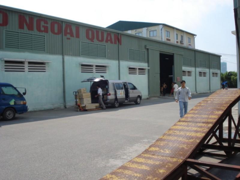 Hệ thống kho ngoại quan của My Viet Transport tại Hà Nội
