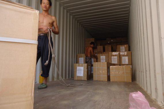 Dịch vụ vận tải đường bộ từ Hậu Giang đi Lào uy tín