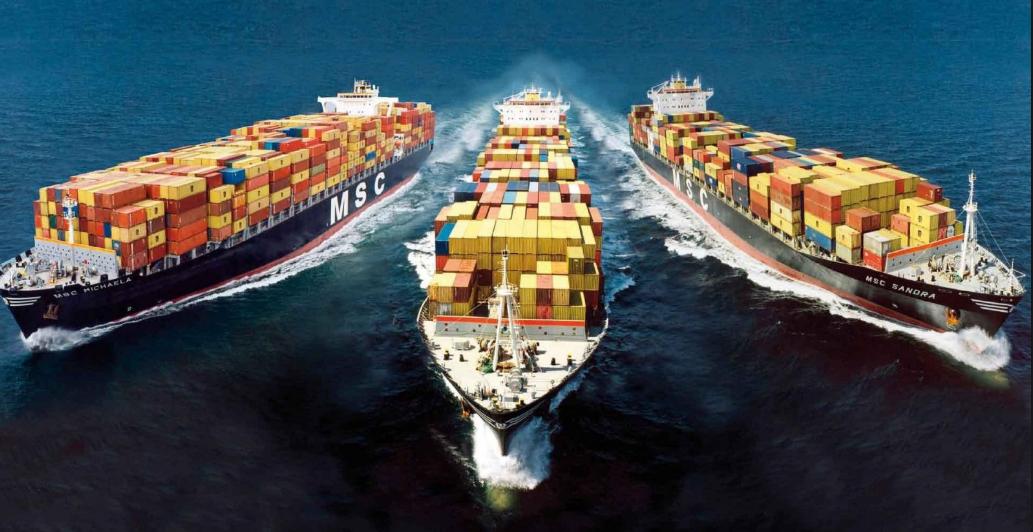 Vận chuyển đi quốc tế bằng đường biển