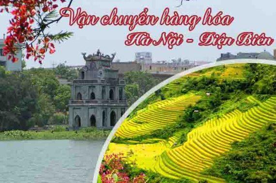 Dịch vụ vận chuyển gửi hàng từ Hà Nội đi ra Điện Biên 24h