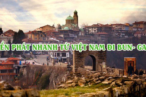 Dịch vụ chuyển phát nhanh từ Việt Nam đi Bulgaria