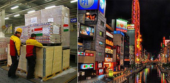 Gửi thức ăn đi Nhật được không ?