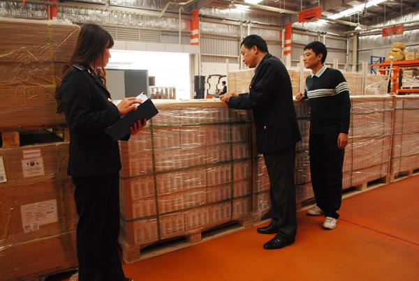 Thủ tục hải quan điện tử xuất khẩu sản phẩm đối với vật tư tự cung ứng để sản xuất hàng XK