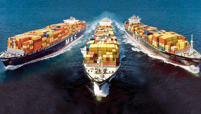 Những hàng hoá trong vận tải biển hiện nay